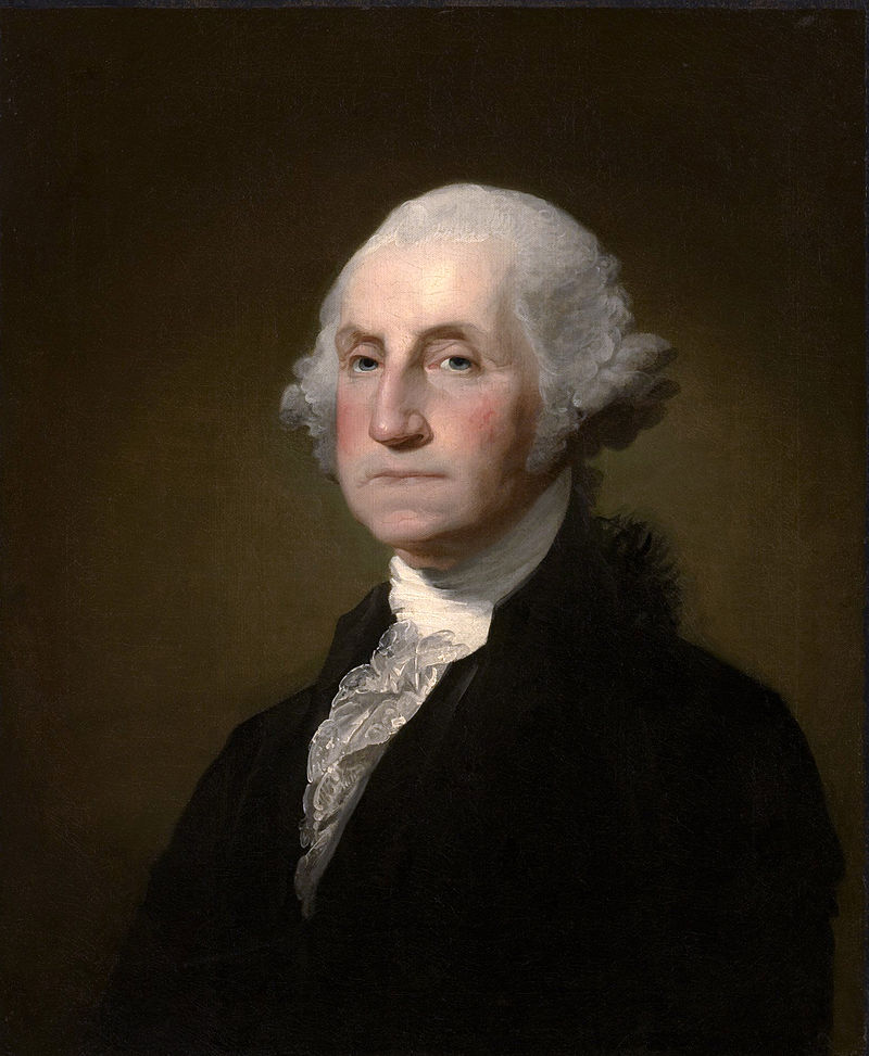 Gilbert Stuart Williamstown Portrait of George Washington / Wikimedia Commons