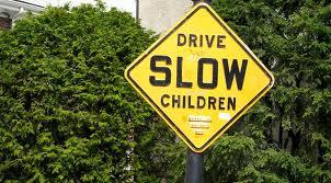driveslowchildren