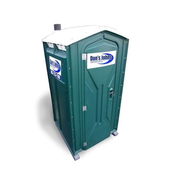 """Deluxe Portable Restroom"" / photo courtesy Don's John's"