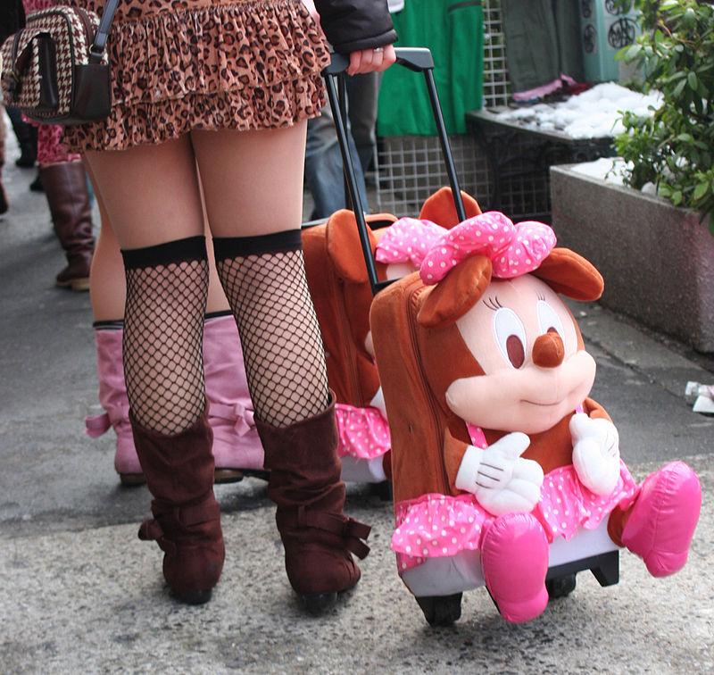 """Girls in Harajuku --- Kawaii?"" by Jun, via Wiki Commons"