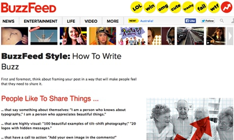 BuzzFeed style guide