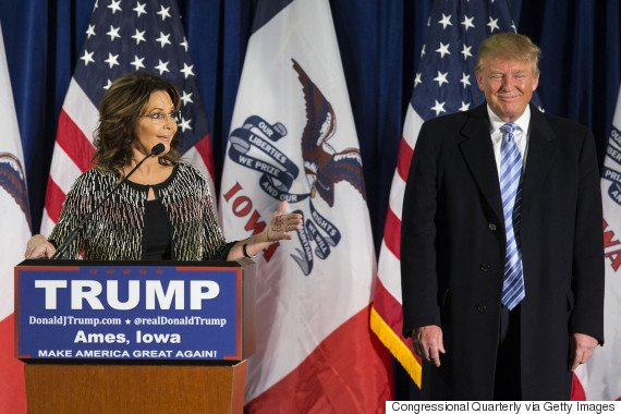 Sarah Palin gets in a 'squirmish' with coherence/HuffPostUK Politics